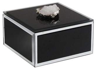 Jay Import Black Agate Trinket Box