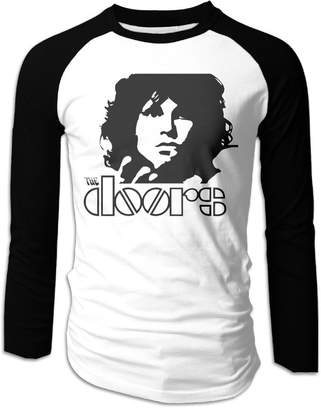 URBAN RESEARCH KDJOF Boys Jim Morrison The Long Sleeve Raglan Baseball Shirts