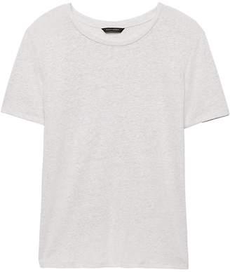 Banana Republic Linen Blend Cross-Back T-Shirt