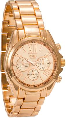 MC M&c Ferretti Women's | Rose Gold Chronograph Midi Dial Watch | FT14502