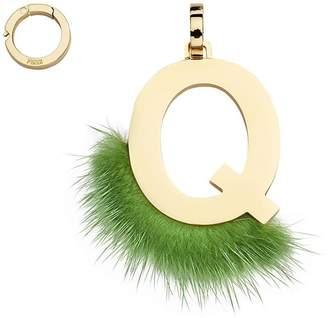 Fendi ABClick Q pendant charm
