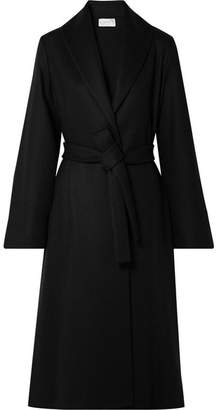 The Row Parlia Wool Coat - Black
