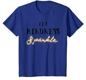 Let Kindness Sparkle Anti Bullying T Shirt