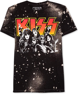 Hybrid Men's Kiss-Print Cotton T-Shirt