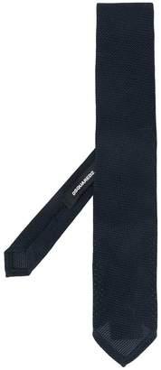 DSQUARED2 woven design tie