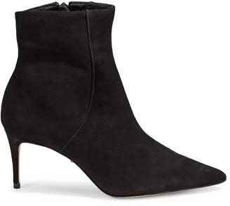 Schutz Side-Zip Leather Booties