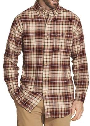 Arrow Men's Saranac Flannel Long-Sleeve Button-Down Shirt