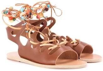 Ancient Greek Sandals Antigone leather sandals