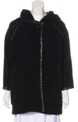Isabel Marant Wool-Blend Short Coat
