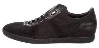 Christian Dior B01 Wool Low-Top Sneakers