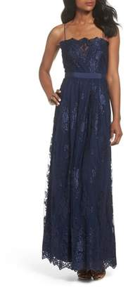 Vince Camuto Lace Gown