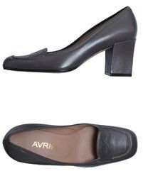 Avril Gau Moccasins with heel