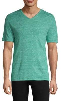 Michael Kors V-Neck Short-Sleeve Tee