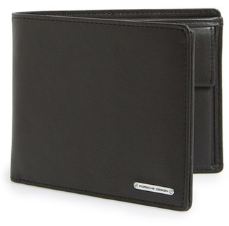 Men's Porsche Design 'Cl2 2.0' Leather Billfold Wallet - Black $155 thestylecure.com