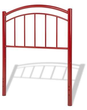 Leggett & Platt Rylan Metal Kids Headboard, Tomato Red Finish, Full