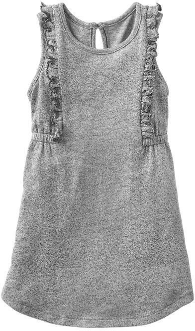 Gap Marled ruffle dress