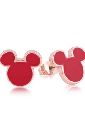 Disney Mickey Mouse Anniversary Red Enamel Stud Earrings Dre385