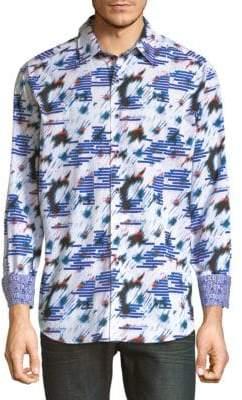Robert Graham Chanute Print Cotton Shirt