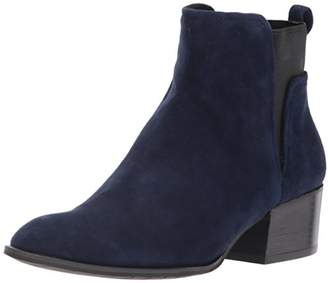 Kenneth Cole New York Women's Artie Pull On Ankle Bootie Low Heel Suede