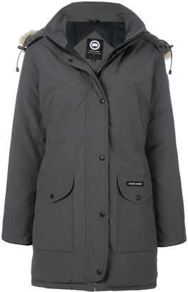 Canada Goose fur hooded coat