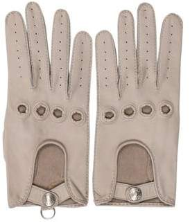 Hermes Perforated Lambskin Driving Gloves