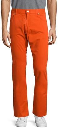 Façonnable Men's Solid Five-Pocket Pants