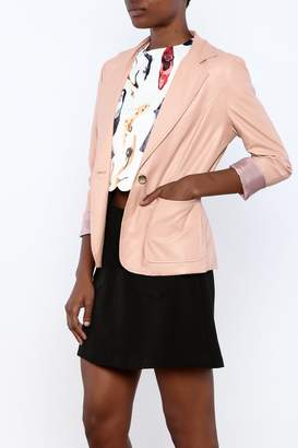 Double Zero Blush Vegan Jacket