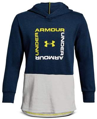 17941957f57 Under Armour Boys  Unstoppable Square-Logo Hoodie - Big Kid
