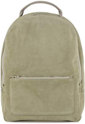 Yeezy beige suede backpack