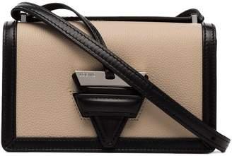 Loewe Beige and black Barcelona Leather Shoulder Bag