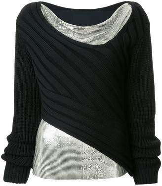 3.1 Phillip Lim layered mesh jumper