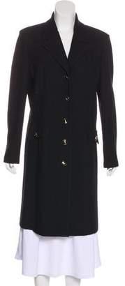 St. John Long Button-Up Coat