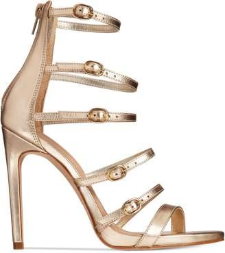 Aldo Womens Nandra Leather Open Toe Special Occasion Strappy