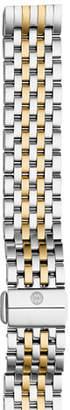 Michele Deco II Midsize Seven-Link Bracelet Strap, Two-Tone