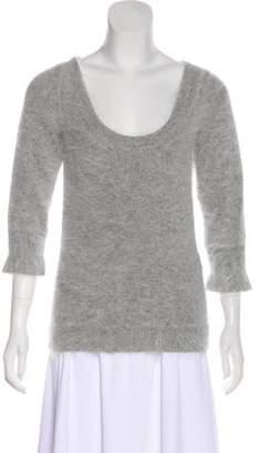 Gucci Angora Scoop Neck Sweater