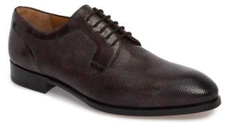 Magnanni Porter Textured Plain Toe Derby