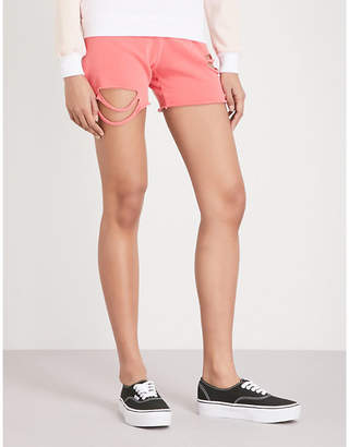 Wildfox Couture Roberta cotton-jersey shorts