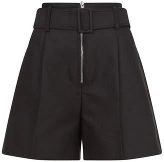 Sandro High Waist Shorts