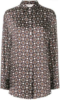 Mulberry circle patterned shirt