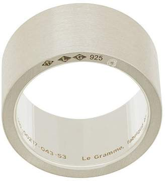 Le Gramme 15 grams slick brushed ring