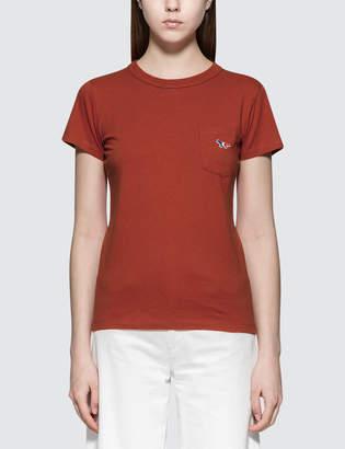 MAISON KITSUNÉ Tricolor Fox Patch S/S T-Shirt