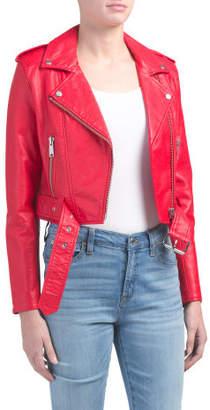 Tracy Moto Faux Leather Jacket