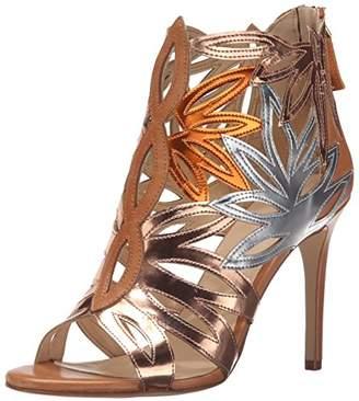 49beb9b84f3 Nine West Women s Urgint Synthetic Heeled Sandal