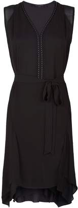 AllSaints Izara Studded Dress