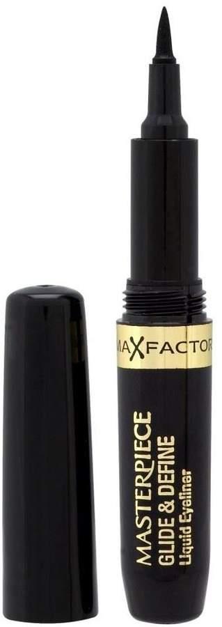 Max Factor Glide & Define Liquid Eye Liner - Black - Pack of 6