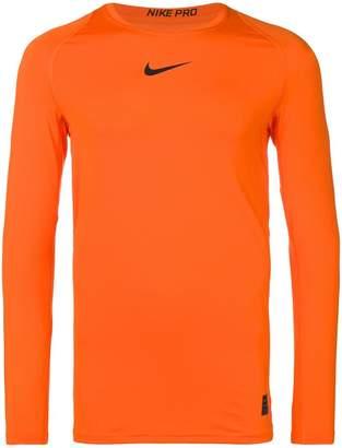 Nike Safety orange performance top
