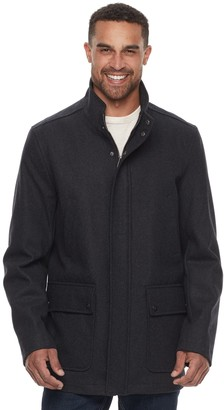 Dockers Men's Wool-Blend Stadium Jacket