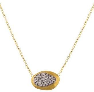 Marco Bicego 18K Pavé Diamond Pendant Necklace