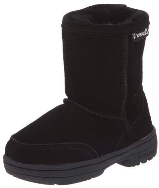 BearPaw Girl's Meadow Toddler Ankle-High Suede Boot - 8M