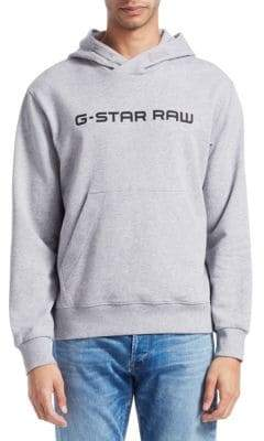 G Star Loaq Hooded Logo Sweatshirt